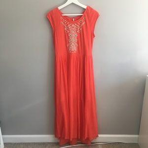 Free People Toosaloosa Slub Meadow Dress #225